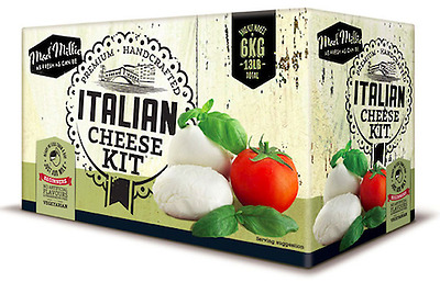 Italian Cheese Kit by Mad Millie- make up to 10 batches (~6 kg) of cheese