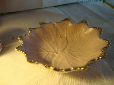 Set of 2 California USA Pottery Candy Dish 720C with Gold Trim
