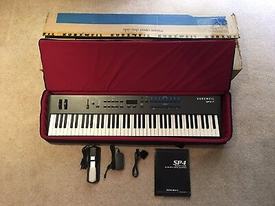 Kurzweil SP4-7 stage piano  76 key semi-weighted action