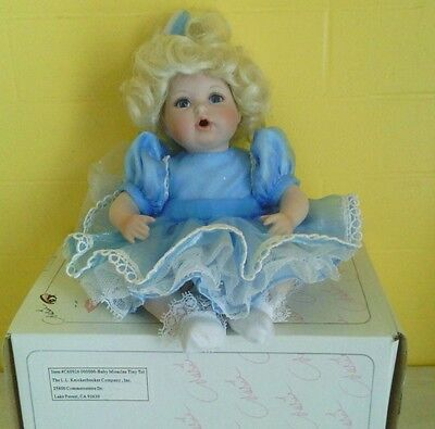 Marie Osmond Baby Miracles Tiny Tot Porcelain Doll