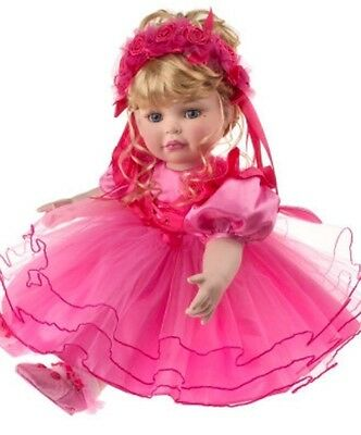 "MARIE OSMOND ""Friendship"" 20"" Seated Porcelain Doll! NEW IN BOX!"