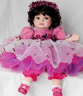 Marie Osmond Olive May Loving Tribute Porcelain Doll New In Box