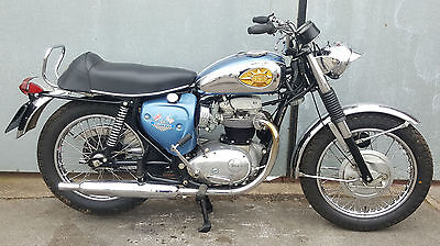 1969 Bsa A65 Lightning. Us Spec Fully Restored. Matching Numbers. Stunning!