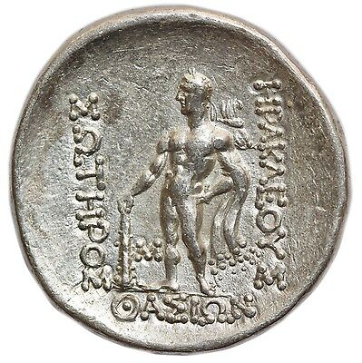 THRACE: Thasos, AR Tetradrachm (16.87g), after 148 BC, head of Dionysos right, r