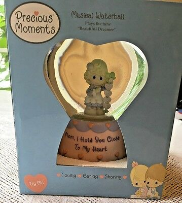 2006 Precious Moments Mom Musical Waterball - Beautiful Dreamer  NEW IN BOX