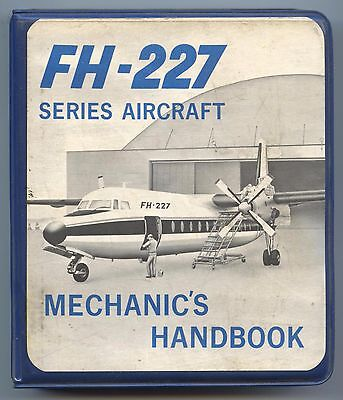 Fh-227 Series Aircraft Mechanic's Handbook