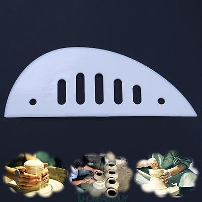 1pc Strong Plastic Slices Scraping Sculpture Clay DIY Craft  Engraved Clay Tools