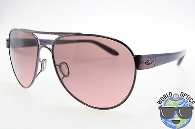 Oakley Women's Sunglasses OO4110-01 DISCLOSURE Polished Blackberry /G40 Black