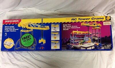 Rokenbok System RC Tower Crane 04709 New In Box Free Shipping Factory Sealed