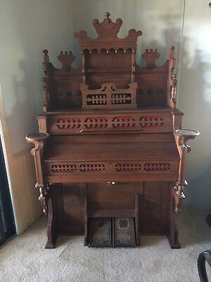 Estey Pump Organ, Very Nice, Brattleboro, VT., Humane Treneolo, MOVING MUST SELL