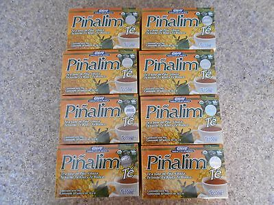 8 PINALIM TEA GN+VIDA WEIGHT LOSS DETOX  240 bags  / SUPLEMENTO HERBAL DIETETICO