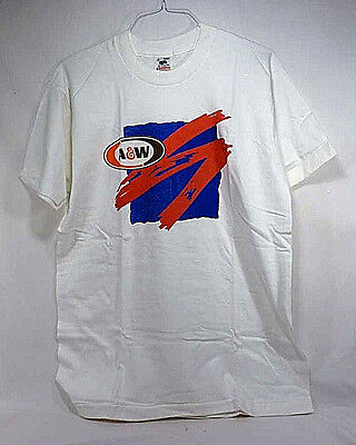Collectible A & W Root Beer Red, White and Blue T-Shirt - NOS - Adult Large