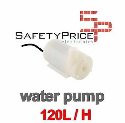 Mini Bomba Sumergible de Agua DC 3V 120L/H Arduino Motor Water Pump SP