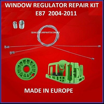 Window Regulator kit BMW E87 Hatch 04-10 1 Series Right REAR 116i 118i 120i 130i