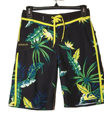 Quiksilver Boy's Board Shorts Size 26 11 12 NWT