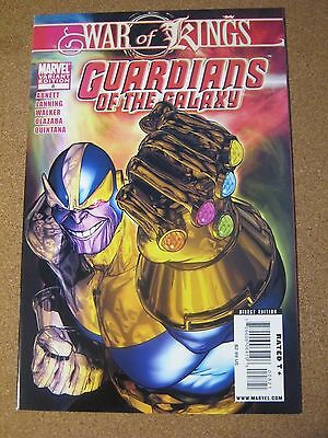 Guardians of the Galaxy #  8 February 2009 Marvel - Thanos Variant War of Kings
