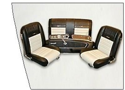 1965 1966 Mustang Pony Interior Kit Coupe And Convertible 999 95 Picclick