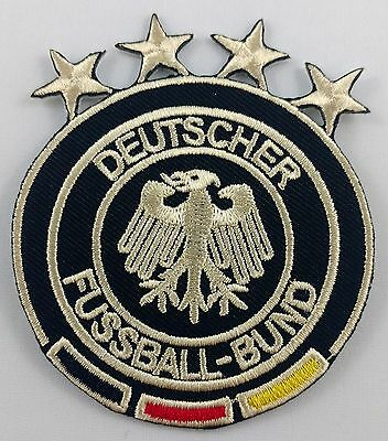 Germany Deutscher Football Club Soccer Patch Badge Embroidered Iron On Applique