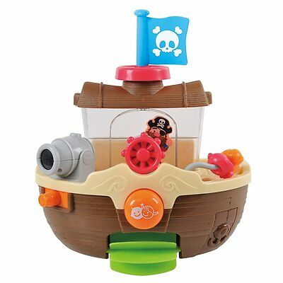Playgo Bath Toy Baby Tub Toddler Infant Time Activity Playset Water Piracy 1932