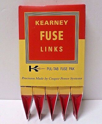 Kearney 51006 Fuse Links, 6 Amp, Type T - Pack of 5