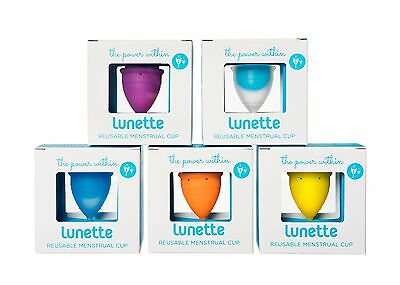 Brand New Authentic Lunette Menstrual Cup - Eco friendly, washable and reusable