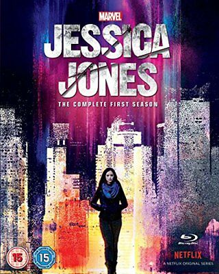 Marvel's Jessica Jones Season 1 [Blu-ray] [2016] [DVD][Region 2]