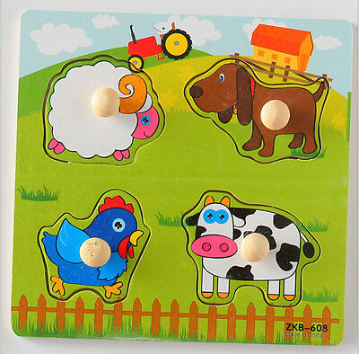 Educational Toys For Infant Toddlers Baby Kids Boy Girl DIY Learning Puzzle