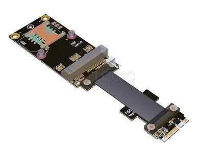 NGFF M.2 Key A+E to mPCIe mini PCIe Adapter Cable 15cm, R56SF