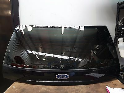 Ford Territory Sy Tx  Tailgate Glass With Moulding & Tint  Pc : St  Black