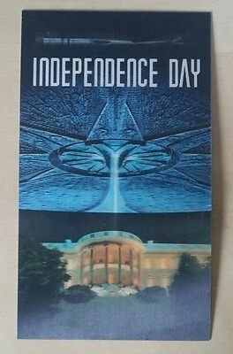 Carte holographique Film Independance Day