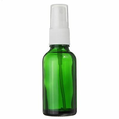 Essential Oil Glass Bottle -  15/30/50 ml Green Glass Spritzer Bottle
