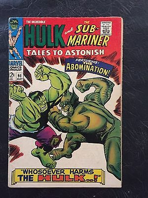Tales To Astonish-- #91 / 1966 / The Abomination