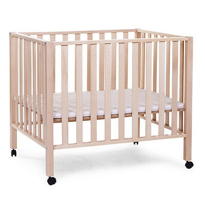 CHILDWOOD Playpen Yard Guard Safety Kid Toddler Baby Child Beech Natural PA94NA