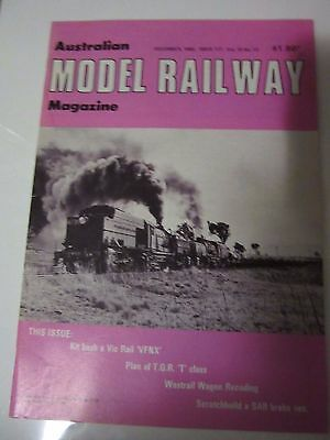 Australian Model Railway Magazine December    1982 Issue 117  Vol 10 No 12