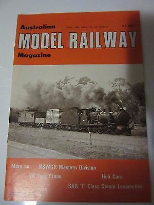 Australian Model Railway Magazine April  1982 Issue 113  Vol 10 No 8