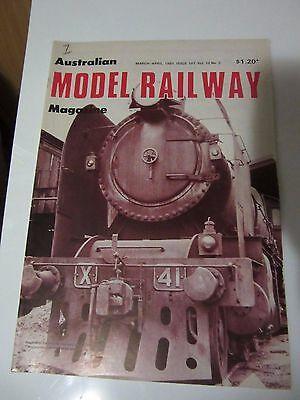 Australian Model Railway Magazine March/April 1981 Issue 107 Vol 10 No 2