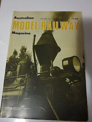 Australian Model Railway Magazine May/June  1981 Issue 108 Vol 10 No 3