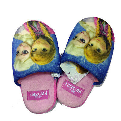 FROZEN slippers soft pink various sizes baby