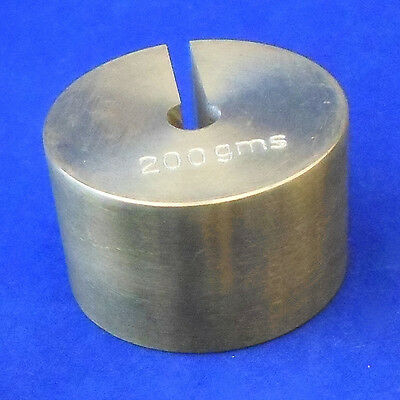 Slotted Weight - 200g Brass - ME450-0200