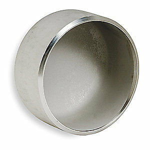 SMITH-COOPER Cap,1 1/2 In,304L Stainless Steel, S2044C 014