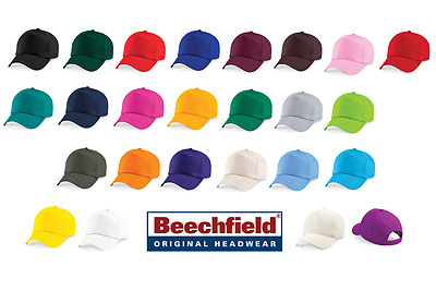 Beechfield 5 Panel Cap 25 Colours One Size