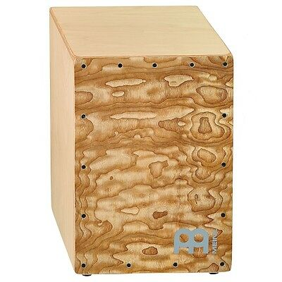 Meinl Percussion JC50NTTA Birch Wood Compact Jam Cajon with Snares Tamo Ash
