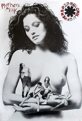 """Red Hot Chili Peppers Mother's Milk 1989 POSTER 23""""x34"""" Funk Alternative Rock"""
