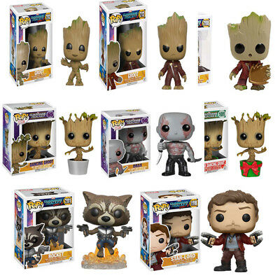 Funko Pop Vinyl Action Figure Toy Guardians of The Galaxy Vol. 2 Groot Raccoon