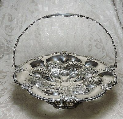 Antique Early Victorian Electroplated German Silver Centerpiece England c1840