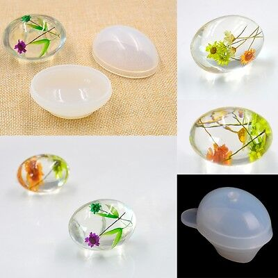Quail Egg Silicone Mold Resin Jewelry Making Mould Epoxy Pendant Craft DIY Tool
