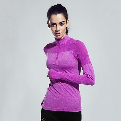 Sports Long Sleeve T-Shirt High Stretch Fast Dry Breath Running Fitness Jacket