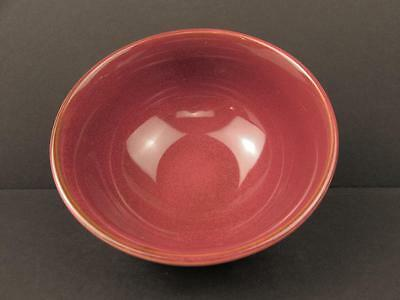 Stitch Brick Red by Ruff Hewn Soup Cereal Bowl All Brick Embossed Stitch Design