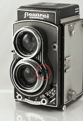 Spare part for Flexaret Meopta Selector Lever Times