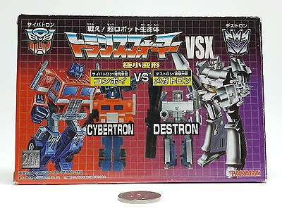 Worlds Smallest Transformers WST Megatron and Optimus Prime G1 VSX Homage Set